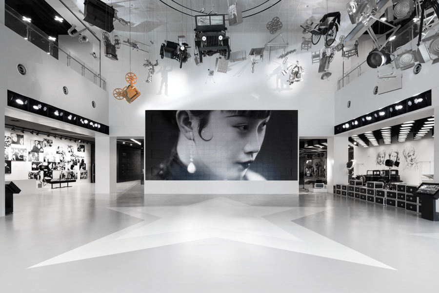 D Cinema Exhibition : Shanghai film museum designing a wonderful experience